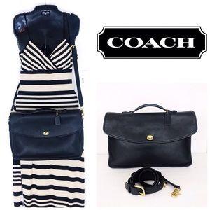 Coach Vintage Unisex Leather Lexington Briefcase